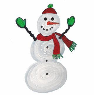 Ornament -Snowman Photo Cutouts