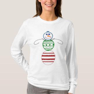 Ornament Snowman - Women's Long Sleeve T-shirt