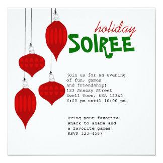 Ornament Soiree Card