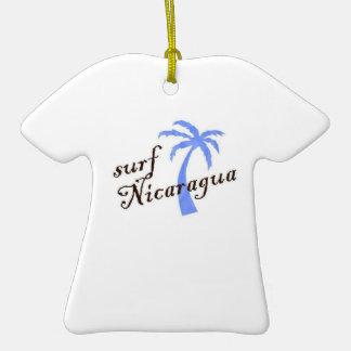 ornament t-shirt - surf Nicaragua