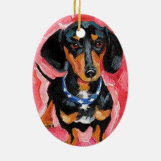 """Ornament """"Teckel """""""