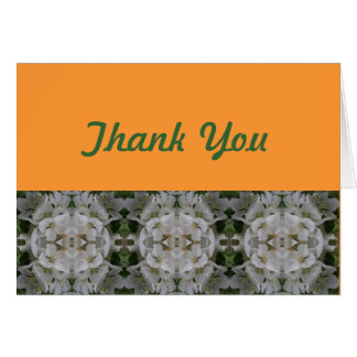 Ornament Thank You Card