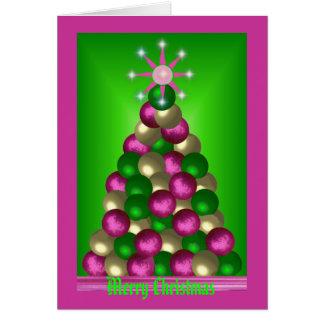 ORNAMENT TREE CARD