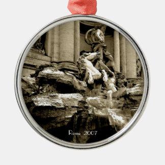 Ornament - Trevi Fountain (sepia)