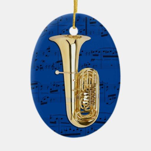 Ornament - Tuba - Pick your color
