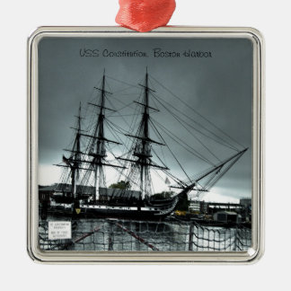Ornament - USS Constitution Blue Tone
