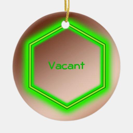 Ornament - Vacancy sign