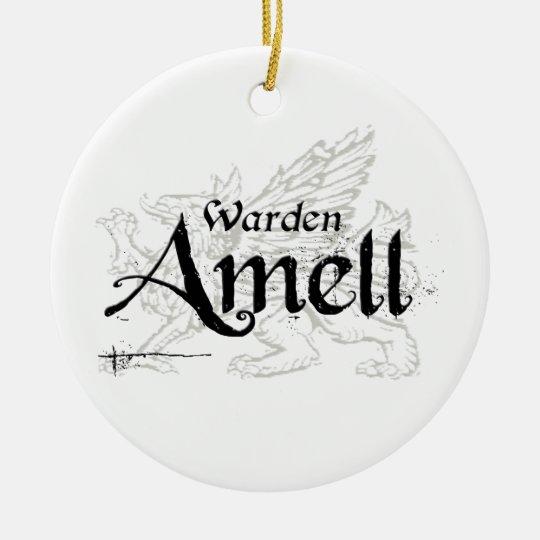 Ornament: Warden AMELL Ceramic Ornament