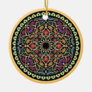 Ornament with Arabic Islamic print