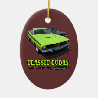 Ornament With Classic Cudas Design