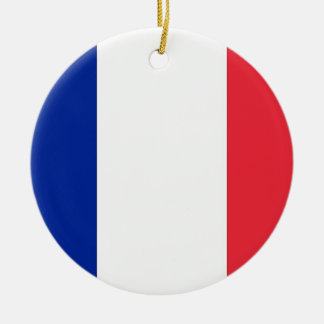 Ornament with flag of France