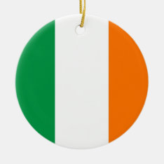 Ornament With Flag Of Ireland at Zazzle