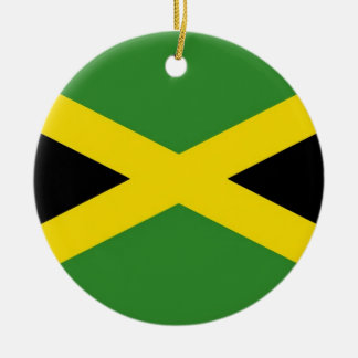 Ornament with flag of Jamaica
