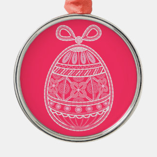 Ornament  with Happy Easter egg