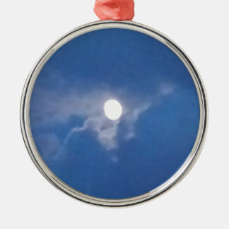 Ornament with Photo of Full Moon