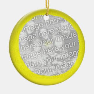 Ornament - Yellow ball