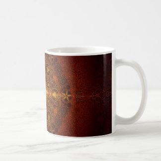 Ornamental 2 coffee mugs