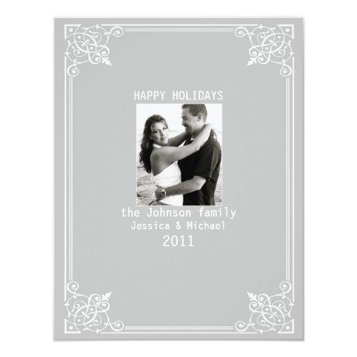Ornamental 4.25x5.5 Paper Invitation Card