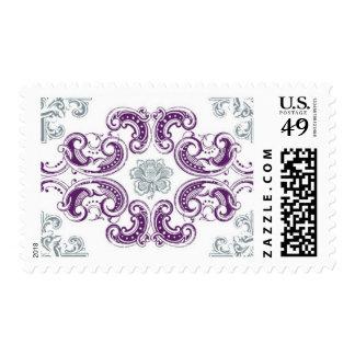 Ornamental A by Ceci New York Postage Stamp