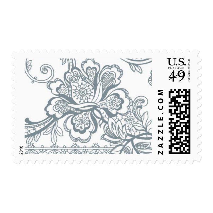 Ornamental B by Ceci New York Postage Stamp