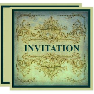 Ornamental Baroque Party Invitation