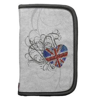 Ornamental British Flag Organizers