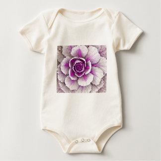 Ornamental cabbage baby bodysuit