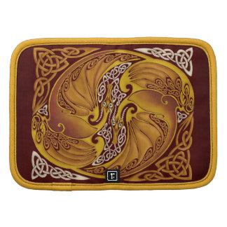 Ornamental Celtic Dragons Organizer