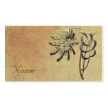 Ornamental Chrysanthemum Double-Sided Standard Business Cards (Pack Of 100)