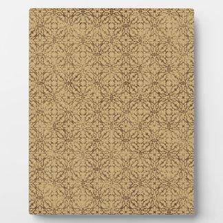 ORNAMENTAL crisp-fall-air-paper13 DECORATIVE BROWN Display Plaque