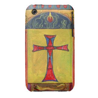 Ornamental Cross Over Snake Fine Art iPhone 3 Case-Mate Cases