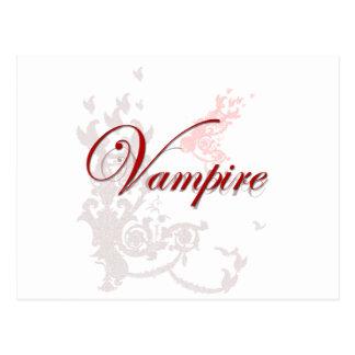 Ornamental del vampiro postal
