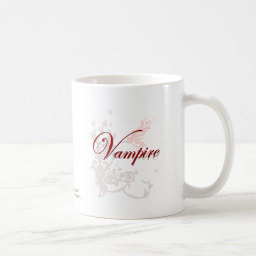 Ornamental del vampiro taza