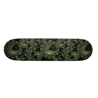Ornamental Fancy Pattern Skateboard