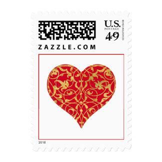 Ornamental Heart Stamp