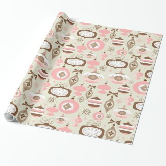 Ornamental Holiday Wrapping Paper