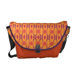 Ornamental India Stripe Courier Bag