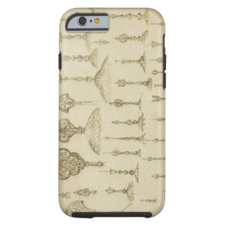 Ornamental knobs shaped as domes and minarets, fro tough iPhone 6 case