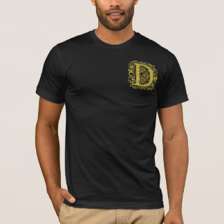 Ornamental Letter D T-Shirt