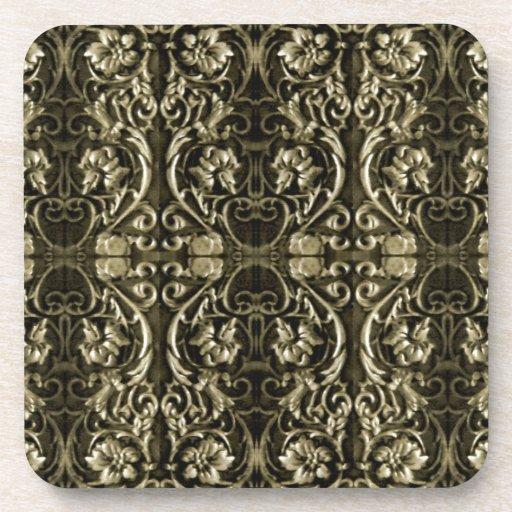 Ornamental Luxury Pattern Drink Coaster