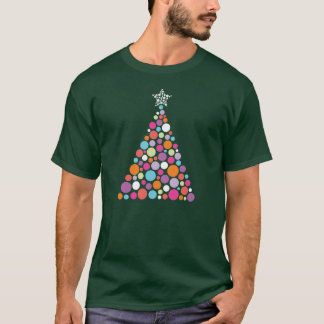 Ornamental Men's Dk Green Christmas Tee