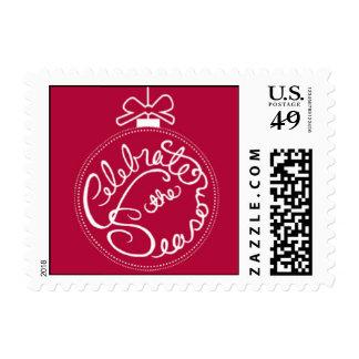Ornamental Merriment Stamps