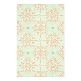 Ornamental pattern stationery