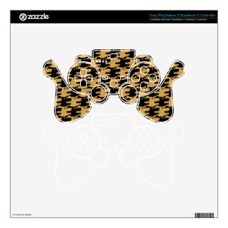 ornamental pattern wolf indomitable PS3 controller decal