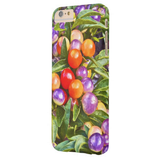 ORNAMENTAL PEPPERS/PURPLE,ORANGE AND YELLOW BARELY THERE iPhone 6 PLUS CASE