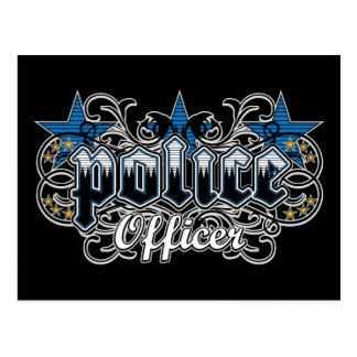 Ornamental Police Officer Postcard