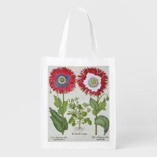 Ornamental Poppies, from the 'Hortus Eystettensis' Grocery Bag