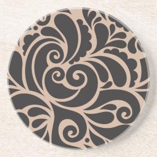 Ornamental Posavasos Sandstone Coaster
