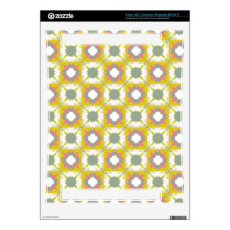 Ornamental squares pattern skin for the xbox 360