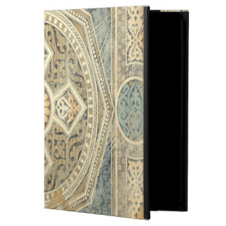 Ornamental Tapestry with Ornate Geometric Design iPad Air Cover